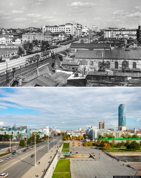 Ekaterinburg: Then and Now, Russia, photo 2