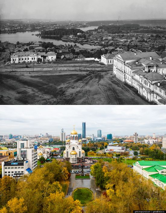 Ekaterinburg: Then and Now, Russia, photo 22