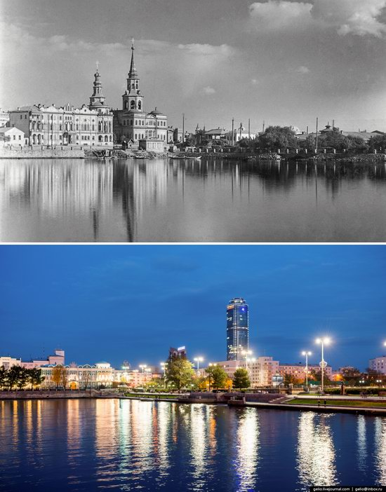 Ekaterinburg: Then and Now, Russia, photo 3