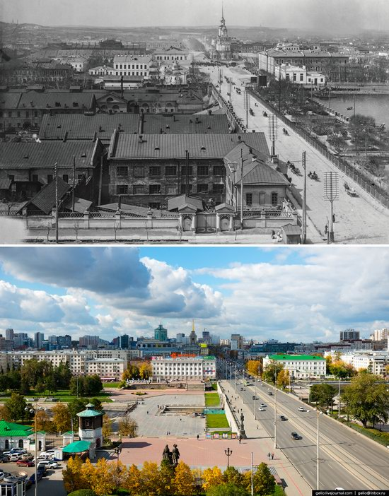 Ekaterinburg: Then and Now, Russia, photo 4