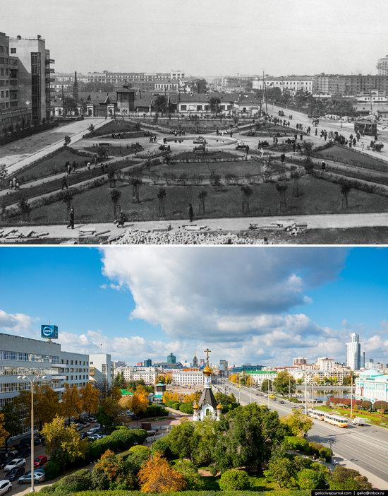 Ekaterinburg: Then and Now, Russia, photo 5