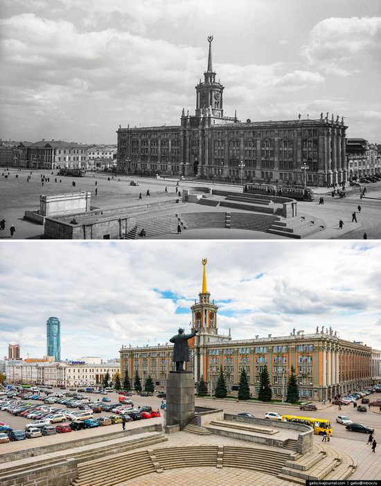 Ekaterinburg: Then and Now, Russia, photo 7