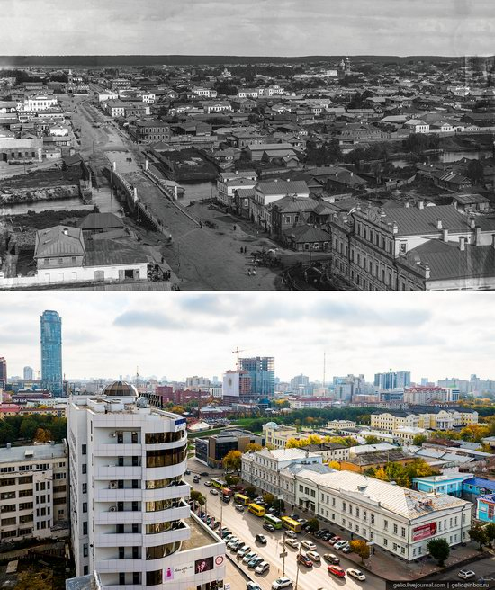 Ekaterinburg: Then and Now, Russia, photo 9