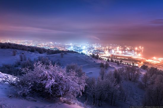 Winter in Murmansk, Russia, photo 1