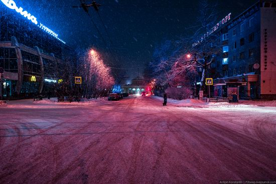 Winter in Murmansk, Russia, photo 11