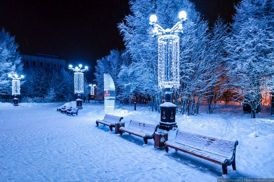 Winter in Murmansk, Russia, photo 14