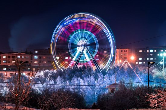Winter in Murmansk, Russia, photo 15