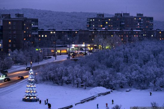 Winter in Murmansk, Russia, photo 16