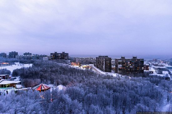 Winter in Murmansk, Russia, photo 17