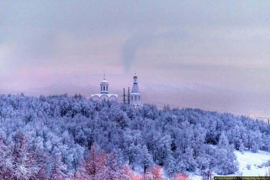 Winter in Murmansk, Russia, photo 18