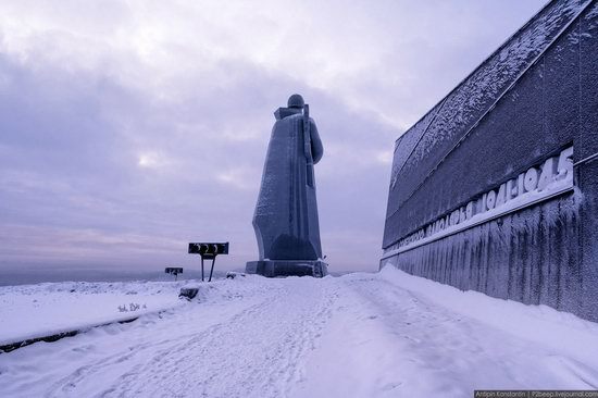 Winter in Murmansk, Russia, photo 19