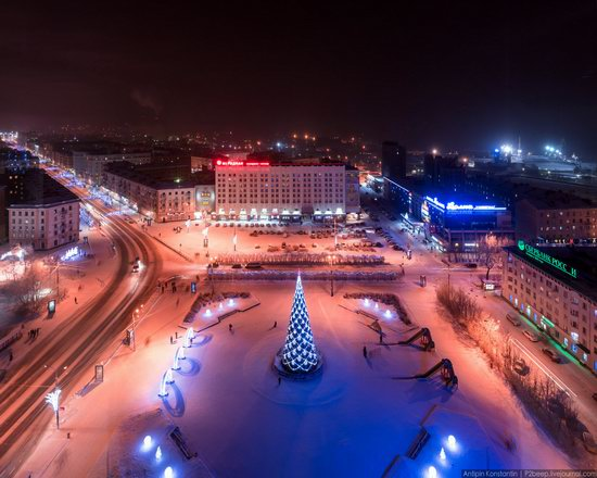 Winter in Murmansk, Russia, photo 2