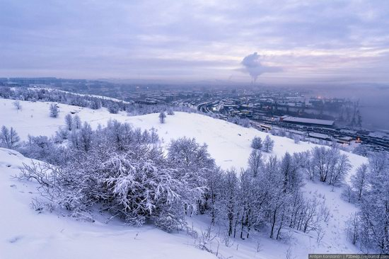 Winter in Murmansk, Russia, photo 20