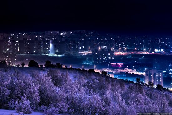 Winter in Murmansk, Russia, photo 22