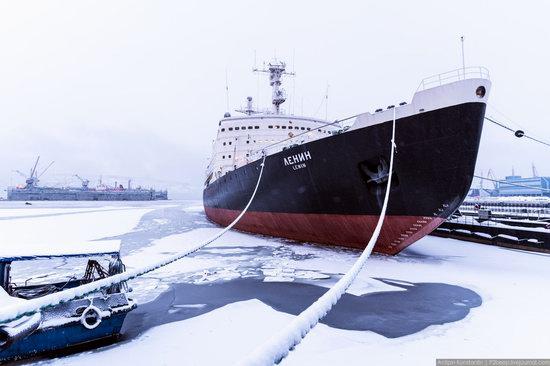 Winter in Murmansk, Russia, photo 23
