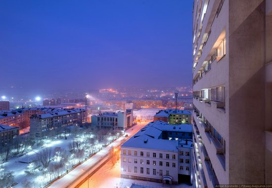 Winter in Murmansk, Russia, photo 26