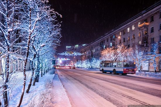 Winter in Murmansk, Russia, photo 3