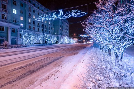 Winter in Murmansk, Russia, photo 5
