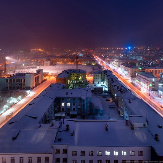 Winter in Murmansk, Russia, photo 7