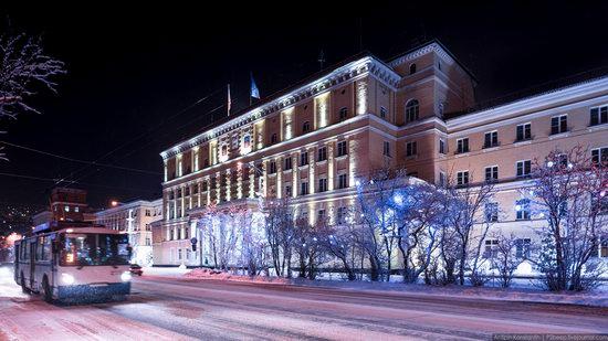 Winter in Murmansk, Russia, photo 8