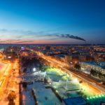 Blagoveshchensk – the view from above