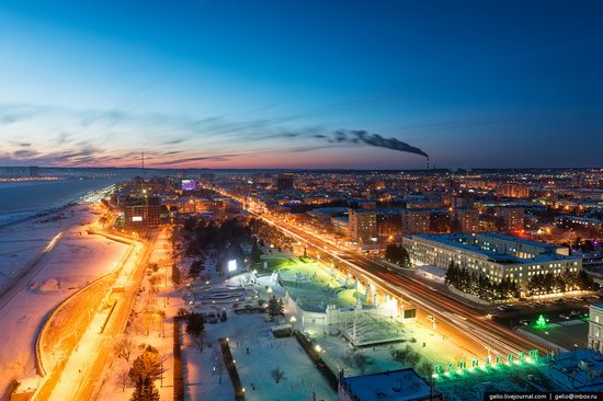 Blagoveshchensk, Russia - the view from above, photo 1