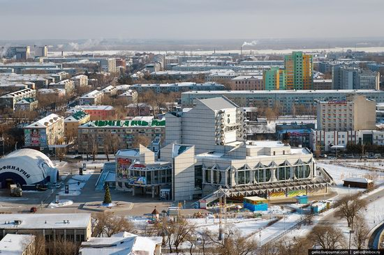 Blagoveshchensk, Russia - the view from above, photo 10