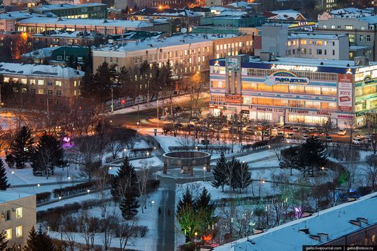 Blagoveshchensk, Russia - the view from above, photo 11