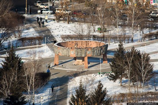 Blagoveshchensk, Russia - the view from above, photo 12