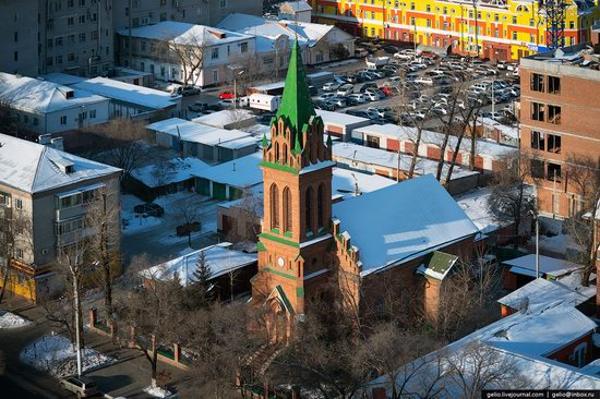 Blagoveshchensk, Russia - the view from above, photo 13