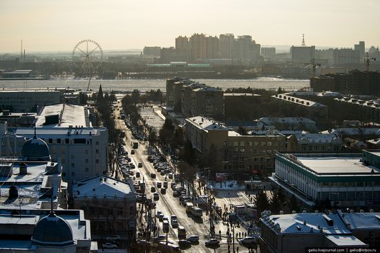 Blagoveshchensk, Russia - the view from above, photo 14