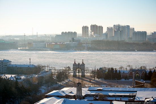 Blagoveshchensk, Russia - the view from above, photo 15