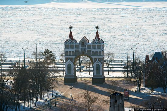 Blagoveshchensk, Russia - the view from above, photo 2