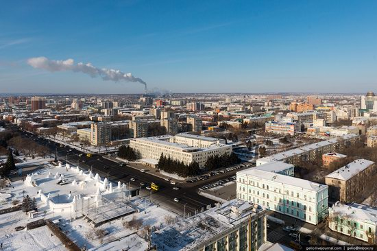 Blagoveshchensk, Russia - the view from above, photo 4