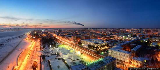 Blagoveshchensk, Russia - the view from above, photo 5