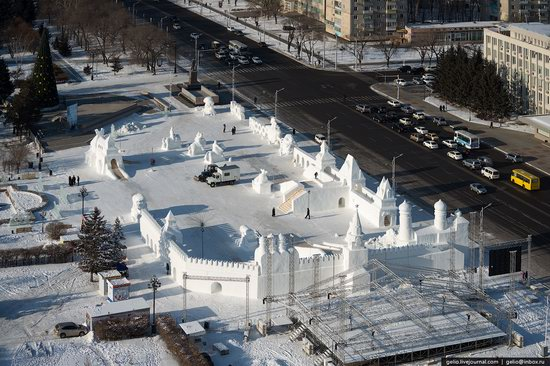 Blagoveshchensk, Russia - the view from above, photo 6