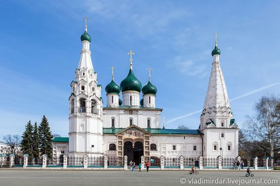 Church of Elijah the Prophet in Yaroslavl, Russia, photo 1