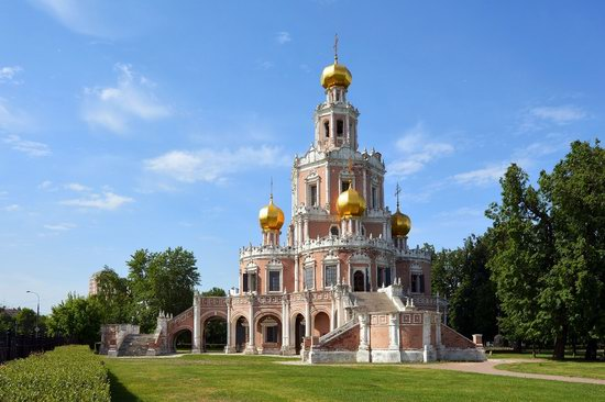 Church of the Intercession at Fili, Moscow, Russia, photo 1