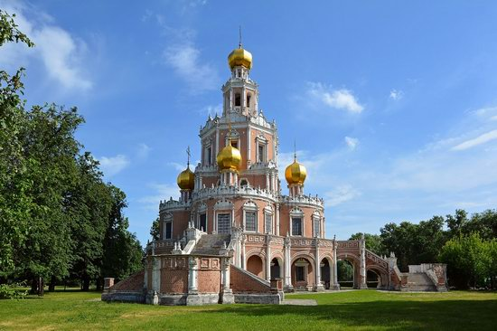 Church of the Intercession at Fili, Moscow, Russia, photo 2