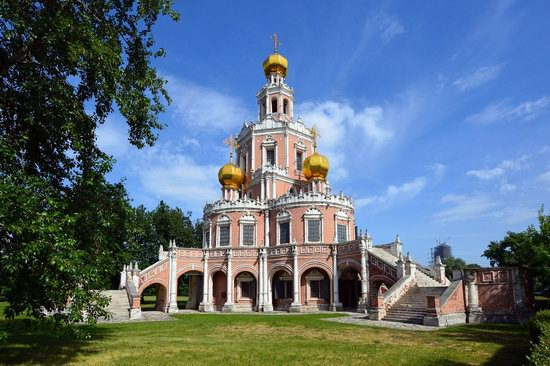 Church of the Intercession at Fili, Moscow, Russia, photo 3