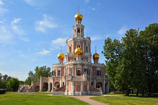 Church of the Intercession at Fili, Moscow, Russia, photo 4