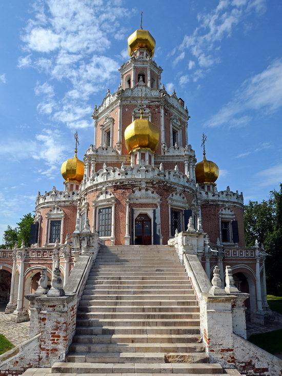 Church of the Intercession at Fili, Moscow, Russia, photo 5