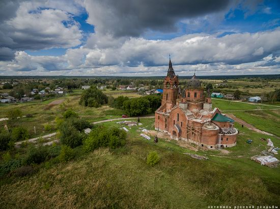 Vvedensky Church in Pet, Ryazan region, Russia, photo 10