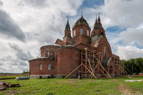 Vvedensky Church in Pet, Ryazan region, Russia, photo 11