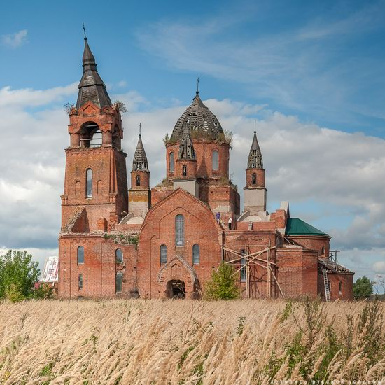 Vvedensky Church in Pet, Ryazan region, Russia, photo 14