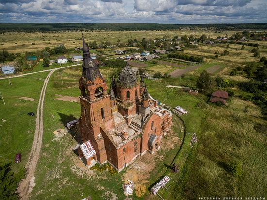 Vvedensky Church in Pet, Ryazan region, Russia, photo 16