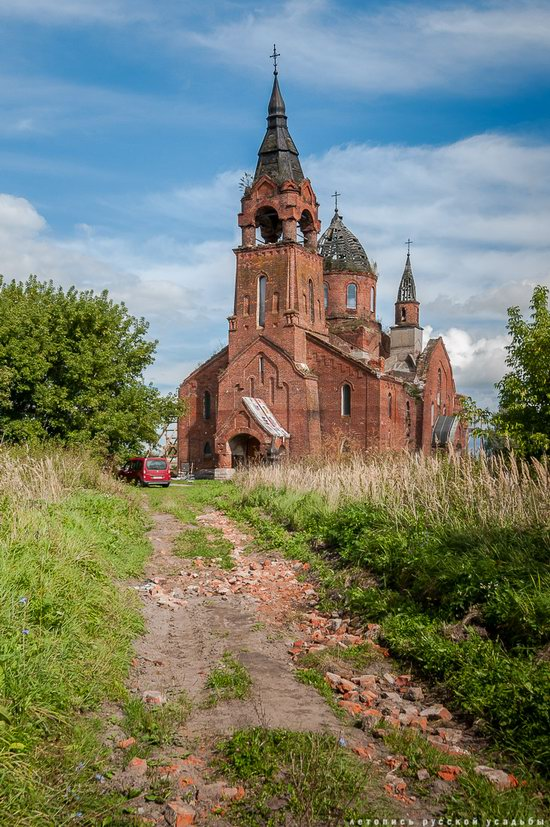 Vvedensky Church in Pet, Ryazan region, Russia, photo 17
