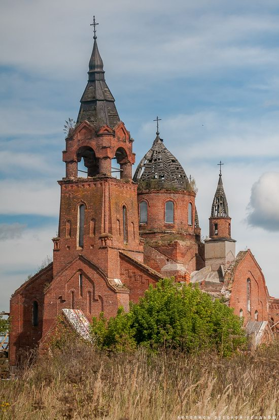 Vvedensky Church in Pet, Ryazan region, Russia, photo 18