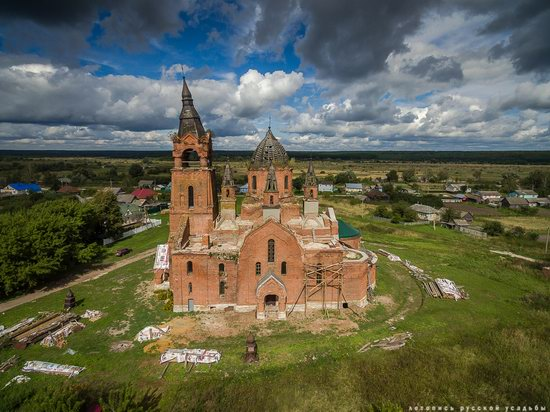 Vvedensky Church in Pet, Ryazan region, Russia, photo 4