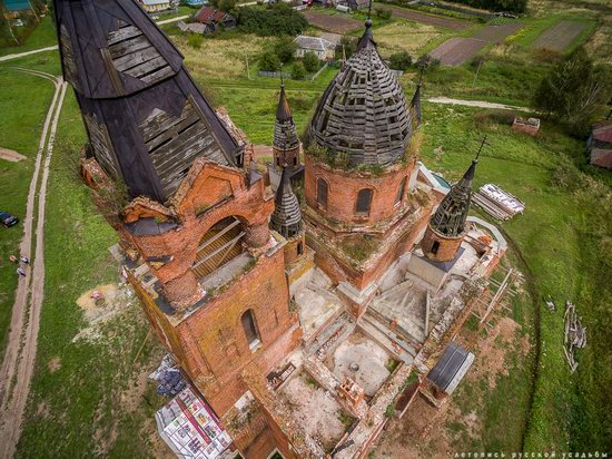 Vvedensky Church in Pet, Ryazan region, Russia, photo 7